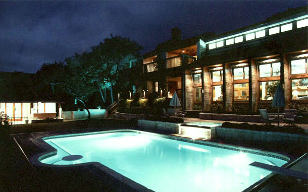 Photo Houstoun Residence Swimming Pool at Night