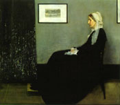 Painting Whistler's Mother